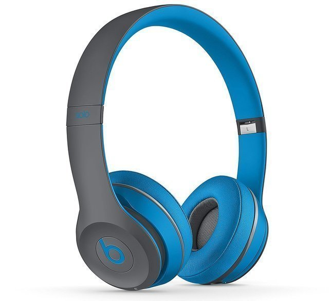 Beats Solo 2 Wireless - blau