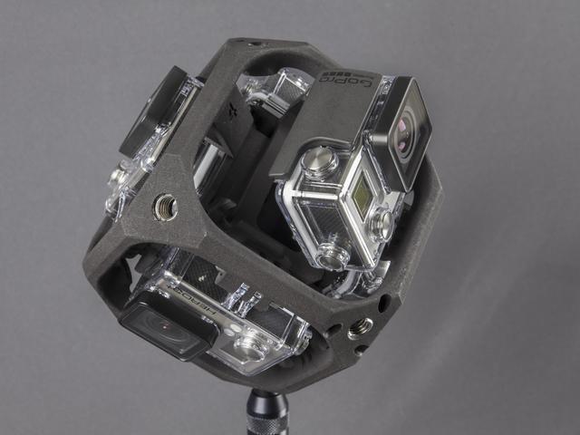 F360 Explorer - GoPro 360 Grad Kamera Rig