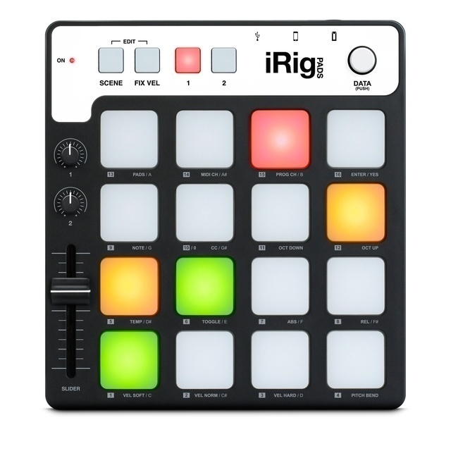 IK Multimedia iRig Pads MIDI-Groove-Controller