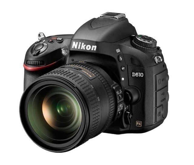 Nikon D610 SLR-Digitalkamera (24,3 Megapixel, 8,1 cm (3,2 Zoll) Display, Full HD, Superempfindliches AF-System)