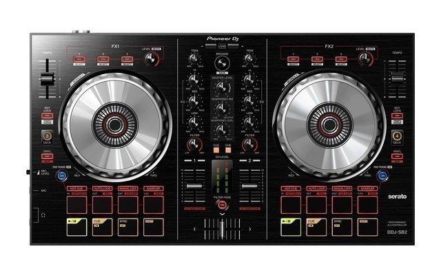 Pioneer DDJ-SB2 DJ-Regler Schwarz
