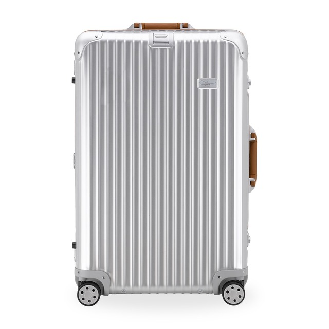 RIMOWA Lufthansa 747-8 Collection Multiwheel® XL+ Trolley mit RIMOWA Electronic Tag