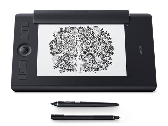 Wacom Intuos Pro M Paper - Grafiktablet, A5, USB/Bluetooth 4.2, schwarz